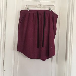 Purple skirt with pockets G by Giuliana